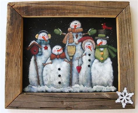 tole painting christmas ornament patterns tole painting pattern glacier or snowmen of