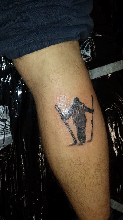 ski tattoo ski tattoos ski gabber newschoolers