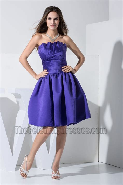 gorgeous regency strapless   cocktail dress party dresses thecelebritydresses
