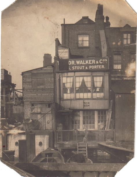 One Floor Tiny House At The Grapes In Limehouse Spitalfields Life