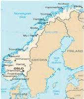 kart over norge norgeskart