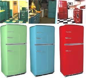 new retro kitchen appliances big chill retro refrigerators latest trends in home