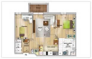 Plan 3 Votre Appartement Dans Une Montana Du Studio Au 3 Pi 232 Ces