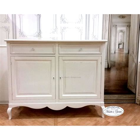credenze basse shabby chic buffet roma 5 shabby chic credenze buffet
