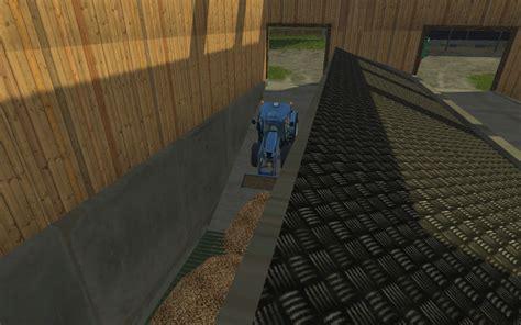 woodchip bunker    fs  farming simulator   mod