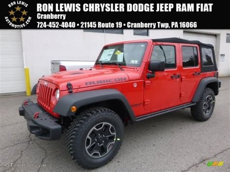 jeep rubicon 2017 colors 2017 firecracker red jeep wrangler unlimited rubicon hard