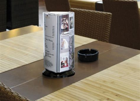 restaurant table top display stands restaurant point of sale menu signs and boards display