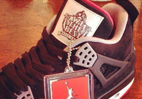 dj khaled shoes dj khaled x air iv quot we the best quot sneakernews