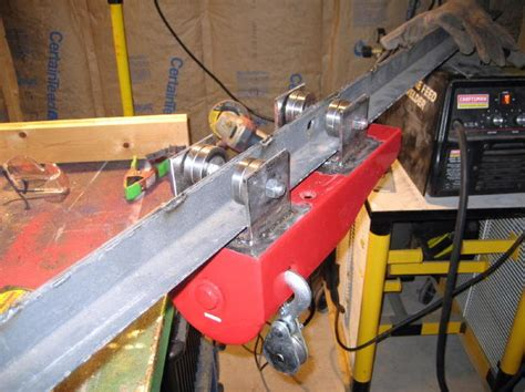 cabela s boat repair omaha light weight attic hoist project completed the garage