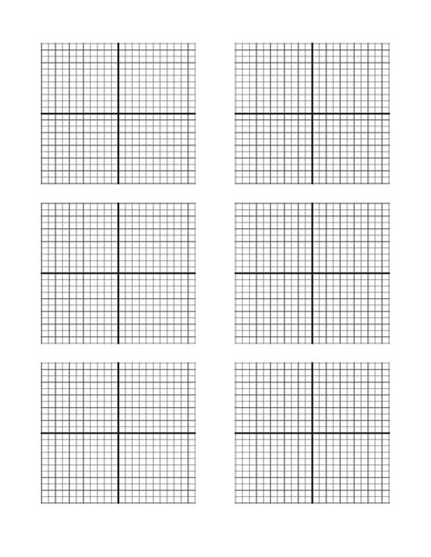 printable graph paper x y axis x y axis graph paper template free download