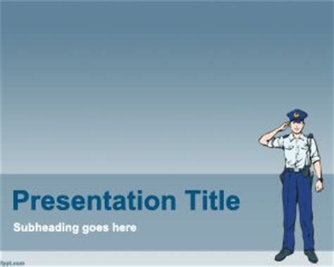 powerpoint templates law enforcement free police powerpoint template