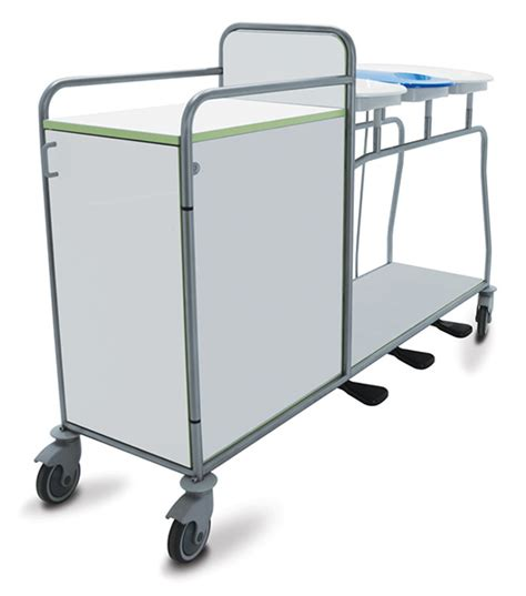 Linen ward trolleys   251DR.3L