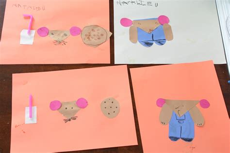 cookie crafts if you give a mouse a cookie craft for prescchool