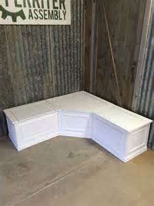 tables benches and more bench seat with storage corner not all banquettes have high backs this window built into bay