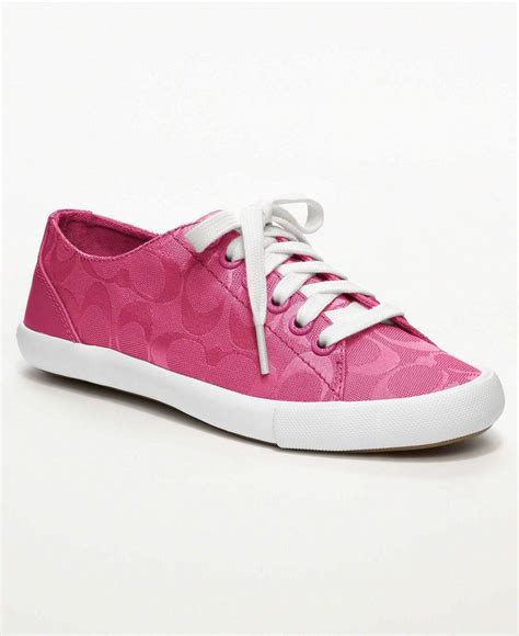 pink coach sneakers 985 best coach i you images on pebbled