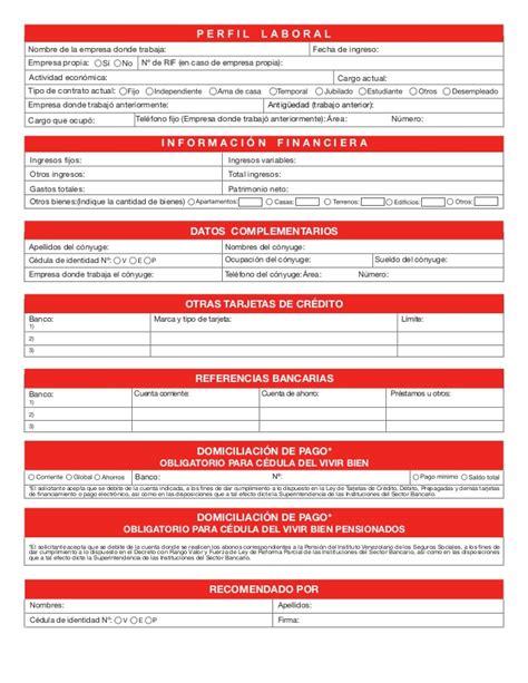 planilla de solicitud credinomina banco bicentenario descargar planilla de solicitud de credito del banco