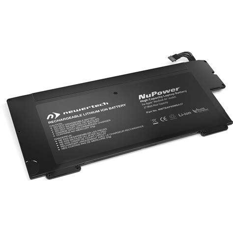 Mba Battery Replacement by Newertech Nupower Replacement Battery For Macbook