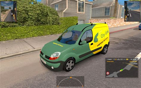 renault kangoo 2016 renault kangoo ai ats mods american truck simulator mods