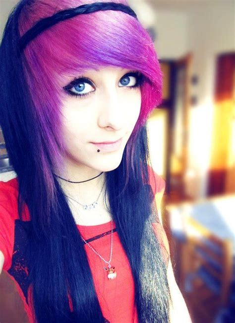 emo hairstyles for long hair girls cool emo hairstyle for girls with long hair styles weekly