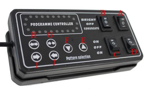 light display controllers 48 quot slim lightbar with brake signal takedown alley