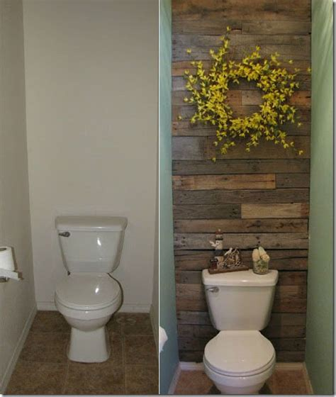 Pallet Wall Bathroom with Recycled Pallets Diy Wooden Wall
