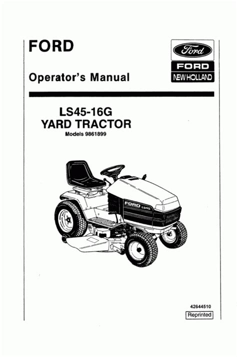 FORD LS45 MANUAL - Auto Electrical Wiring Diagram