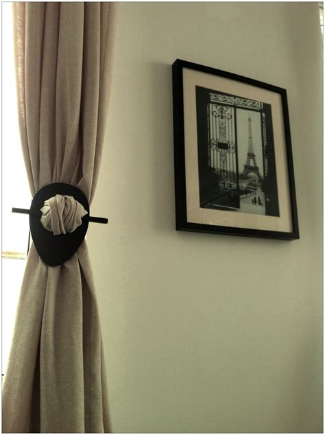 drapery holders curtain holder home the curtain please pinterest