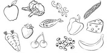 snacks coloring pages getcoloringpages