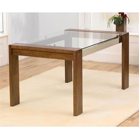 glass dining table images 20 photos oak glass top dining tables dining room ideas