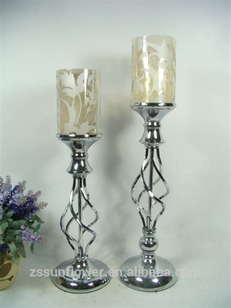 Glass Floor Candle Holders by Glass Pillar Candle Holders Bulk Candelabrum Candle