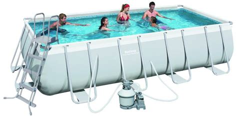 Century Silver 9ft Pool Bestway Steel Pro Silver Rectangular Frame Pool With 165 Quot X73 Quot X48 Quot