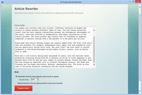 Rewrite My Essay by Essay Rewriter