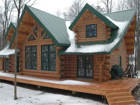 cool cabin ideas log cabin modular homes log cabin home with metal roof