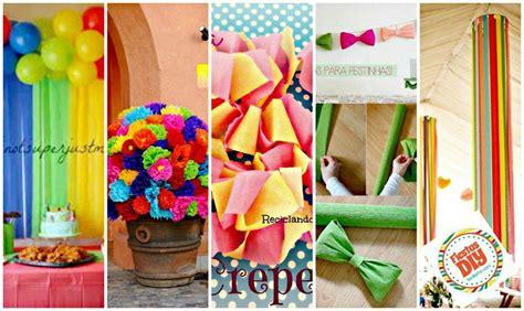 imagenes de cadenas de papel crepe 191 c 243 mo decorar mesa de dulces con papel crep 233 en 5 minutos