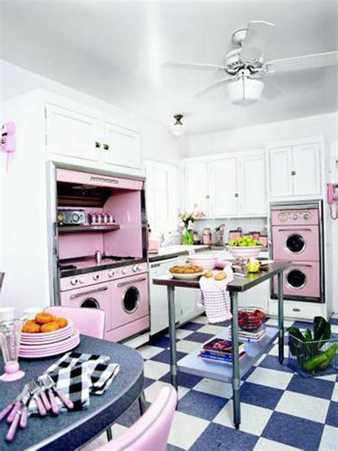 Vintage Decorating Ideas For Kitchens Retro Kitchen Design Ideas