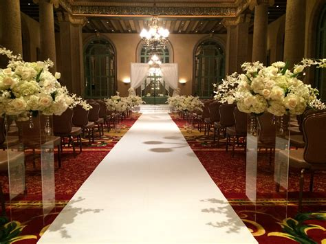 Wedding Aisle With Tables by Wedding Aisle Runners Av Rental