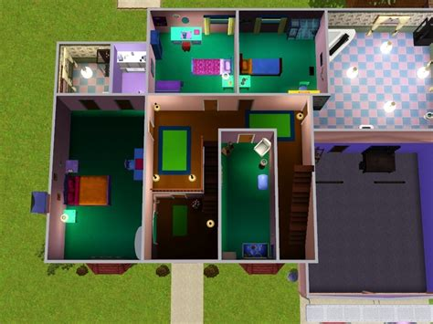 mod the sims the simpsons house 742 evergreen terrace poisonstreet s 742 evergreen terrace