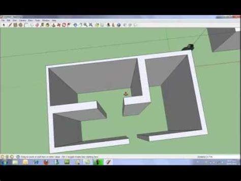 Programa Para Disenar Casas Gratis introducci 243 n b 225 sica a google sketchup youtube