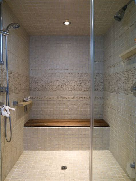 bench in shower teak shower bench houzz