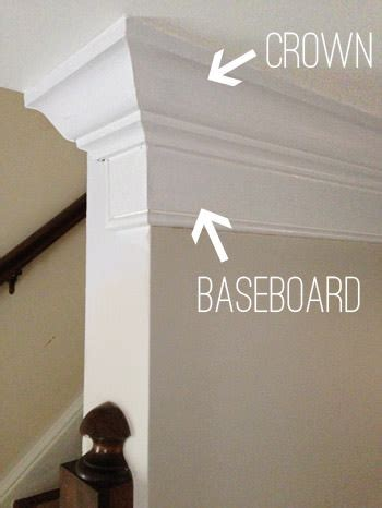 how to add crown molding the top of your cabinets young diy baseboards molding and trim the budget decorator