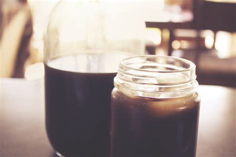 Shelf Of Brewed Coffee by The Benefits Of Cold Brew Coffee Plus Recipes