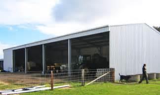 large hay shed rural sheds garages fair dinkum sheds