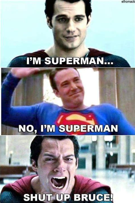 Superman Meme - funny batman vs superman meme lol pinterest funny