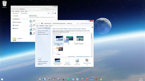 free download themes for windows 7 with taskbar windows 7 space invisible taskbar theme by dave2399 on