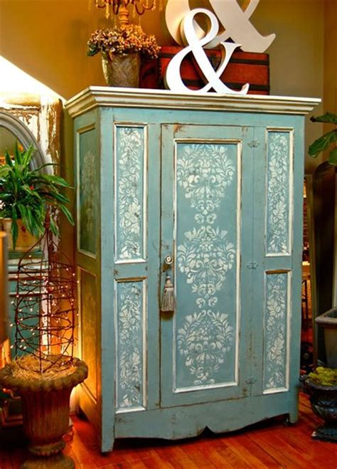 Painted Armoire Ideas by Debbie Dion Of Sloan Unfolded Painted And