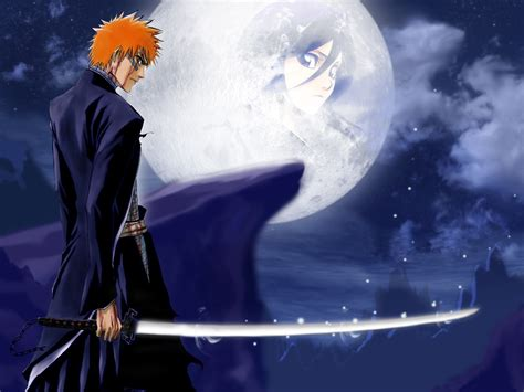 bleach full hd best bleach ichigo kurosaki anime full moon image gallery