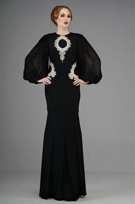 Gaun Diana Blue Maxi highness raya look 7 by rizman ruzaini kebaya baju
