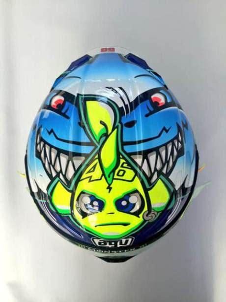Desain Helm Rossi Di Misano 2015 | desain special helm rossi di misano 2015 andryasha