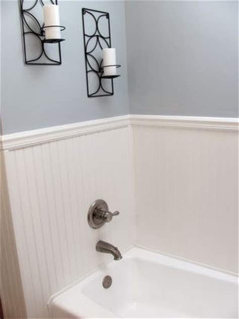 beadboard around bathtub more economical than tile surround continue the
