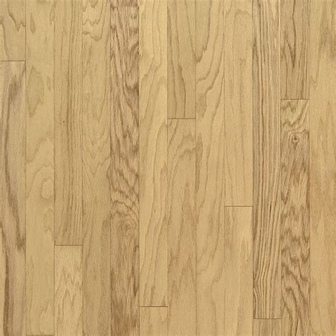 shop bruce 3 in w prefinished oak flooring natural at lowes com